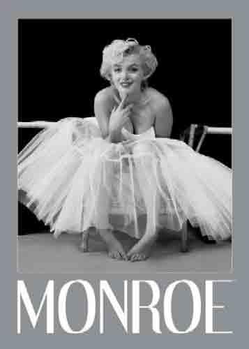 מרלין מונרו - בלרינהסרטים ישנים Marilyn Monroe אישה רקדנית דמות נשית סקסית לגברים פופ ארט אנדי וורהול חדר שינה