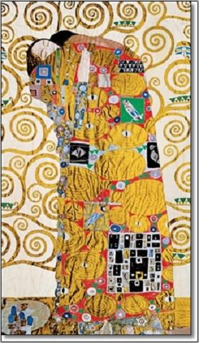החיבוק -קלימטקלימט,זהב,מוזהב,אומנות קלאסית,חיבוק ,