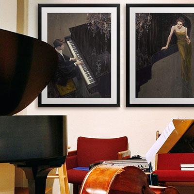 פסנתר שחור פרויקטים