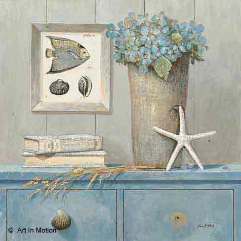 כחול 2פרחים רומנטי יופי רטרו ירוק כדים עציצים אמבטיה מטבח