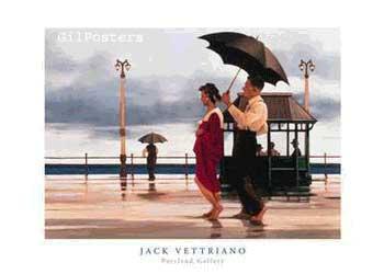 שנינו יחד תחת מיטריה אחתזוג חוף ים רומנטי סגרירי רטרו ווטריאנו