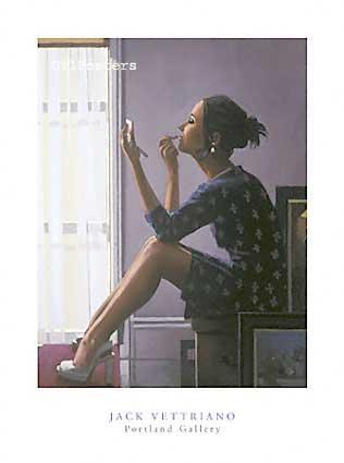 ווטריאנו - נערה מתאפרתאיפור בחורה אישה יופי קוסמטיקה חלון