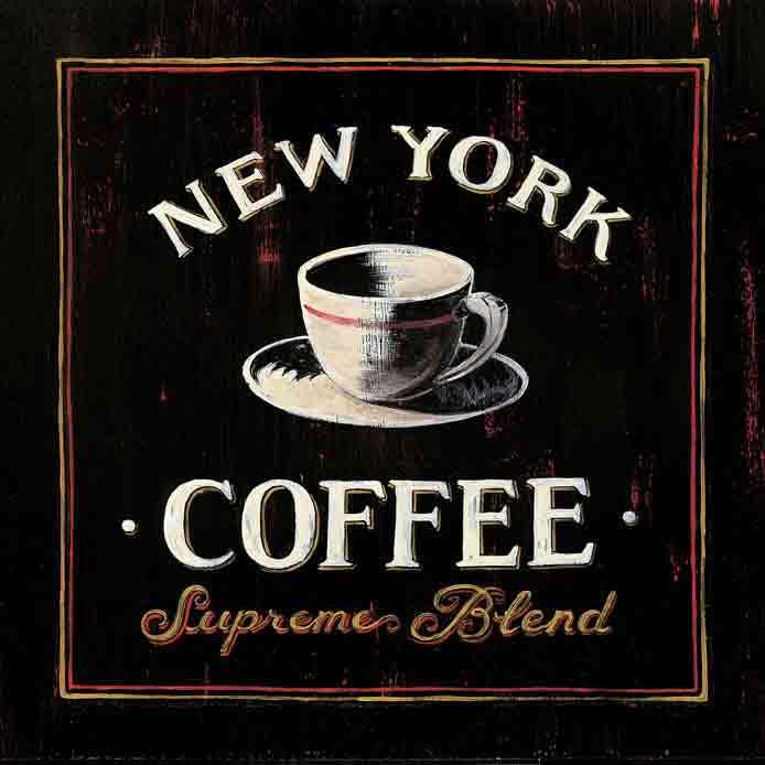 קפה ניו יורקידקורציה עיצוב מטבח
