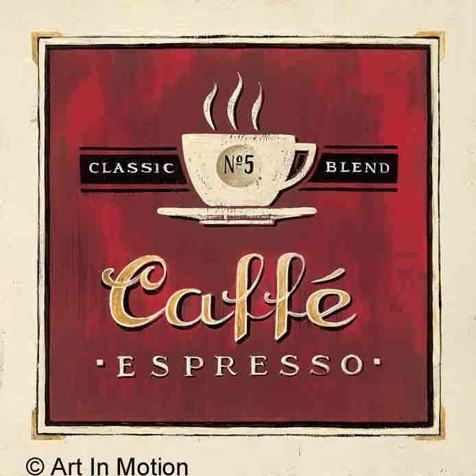 קפה אספרסודקורציה עיצוב מטבח כלי אוכל פינת אוכל