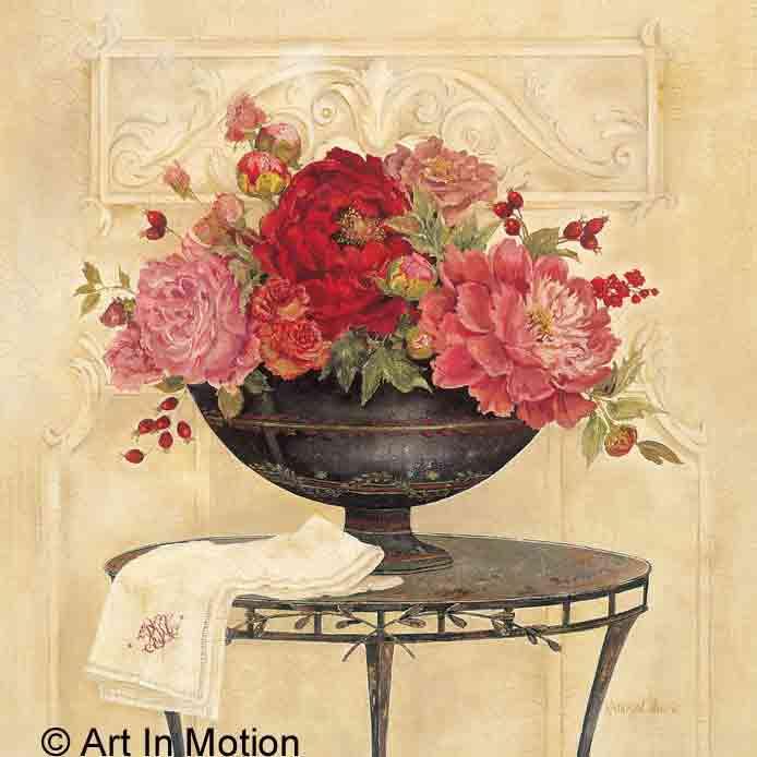 אגרטל פרחים לשבתעציצים דקורציה אדומים פרח גדול פינת אוכל