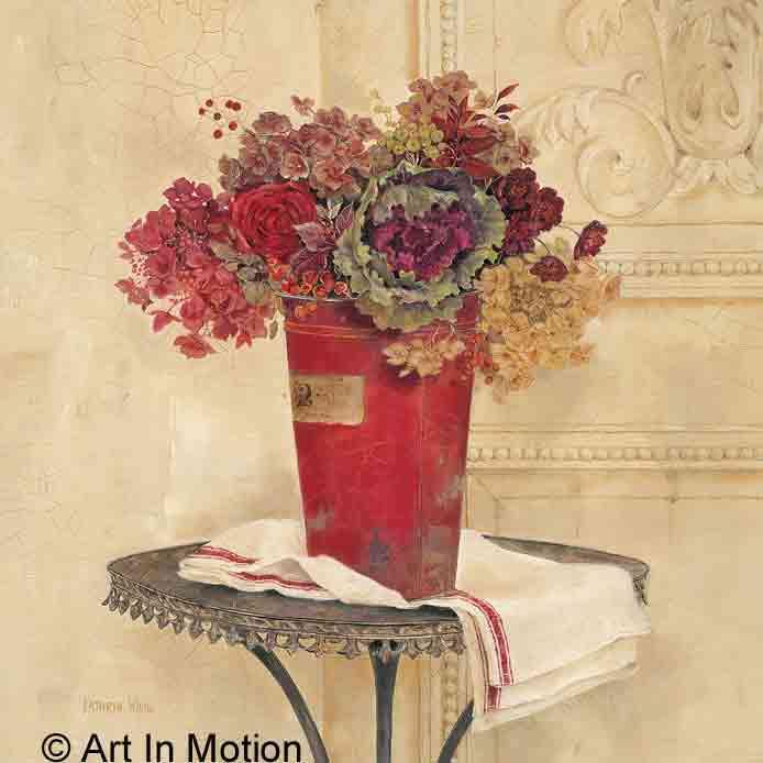 אגרטל אדוםעציצים דקורציה אדומים פרח גדול פינת אוכל