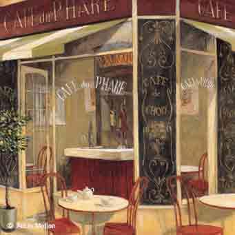 קפה דה פארבית קפה אדום סצינה מסעדה ארוחה חדר אוכל