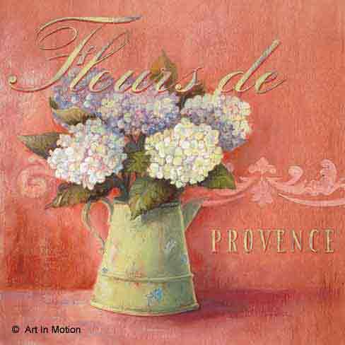 פרחים מפרובנסרומנטי פסטורלי יופי וינטג' רטרו אגרטל עיצוב מטבח