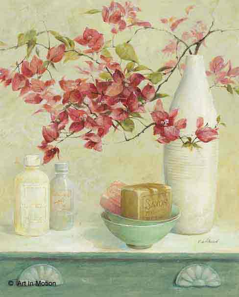 פרחים באמבטרומנטי פסטורלי יופי וינטג' רטרו אגרטל עיצוב מטבח אמבטיה כד