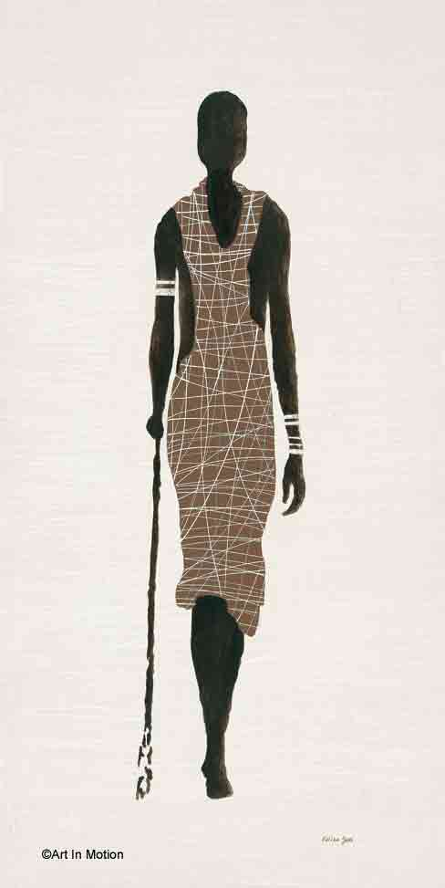 דמות אתנית אישה בת זוג מזרחית אפריקאית אפריקנית