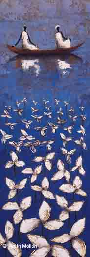 שטים בכיף עיצוב רומנטיקה זוגי חדר שינה חדר עבודה כחול משרד רומנטית דמות דמויות סירות  קאנו