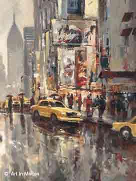 מחזה אורבניאנשים נוף עיר ציור מכונית עירוני אורבני כרזה