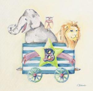 חיות ברכבת Bאריה , ינשוף, פיל, קרון