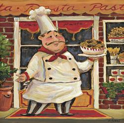שף ופסטהתמונות של שפים  פסטה, איטלקי, ציור , חמוד, טבח, שף , מטבח, מסעדה, ספגטי, כובע, שפם