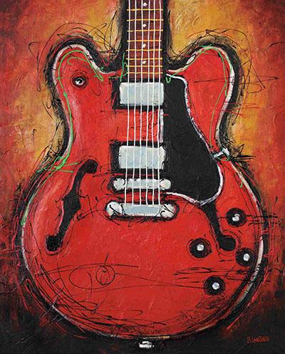 BLUES KING - גיטרה חשמלית
