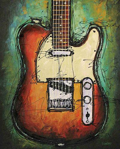 COUNTRY TWANG - גיטרה חשמלית