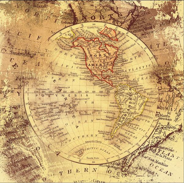 AM-AB4595מפות ישנות עתיקות   מפה עתיקה, , וינטג', מפת עולם, גלובוס