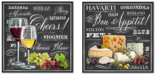 גבינות וייןתמונות של יין