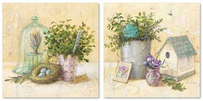 אגרטלים ופרחיםסט תמונות