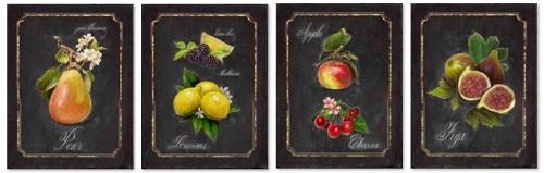 סט תמונות תמונות של פירות ירקות