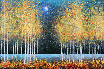 Blue-Moonעצים