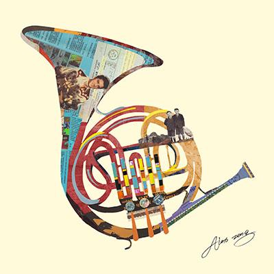 Funky French Hornמוסיקה מוזיקה