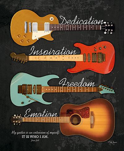 Guitarמוסיקה מוזיקה