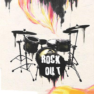 rock outמוסיקה מוזיקה