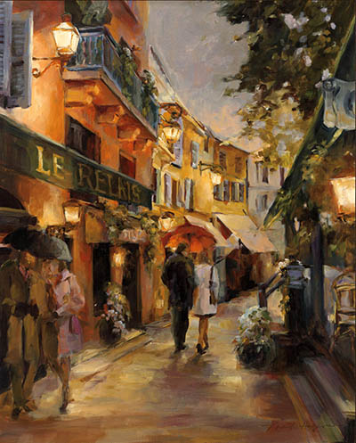 ערב בפריז-Evening-in-Paris-by-Marilyn-Hageman פריז
