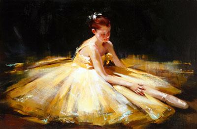 רקדנית בצהוב- Ballerina-in-Yellow  ריקוד