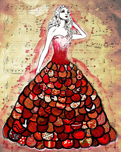 The-Red-DressThe-Red-Dress-by-Jennifer-Lee