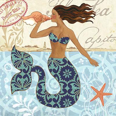 בת הים-Mermaid-Blonde-by-JenniferBrinley   בת הים