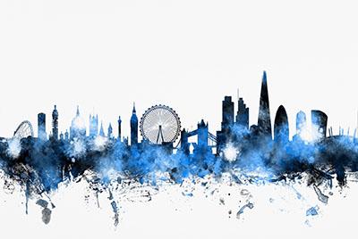 נוף עירוני  - לונדוןנוף עירוני  - לונדון