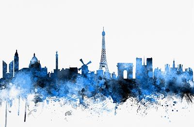 נוף עירוני  - פריז  נוף עירוני