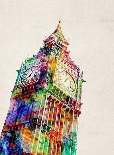 לונדון - ביג בןנוף עירוני
