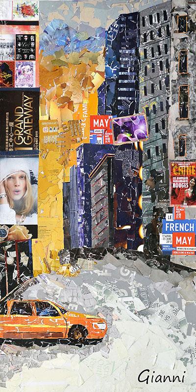 ניו יורק   New York Times Squareנוף עירוני   ניו יורק   New York Times Square