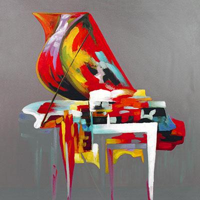 פסנתר ציבעוניPiano   פסנתר ציבעוני