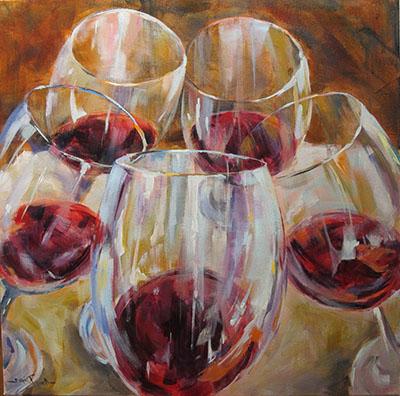 כוסותתמונות של יין    תמונות של משקאות