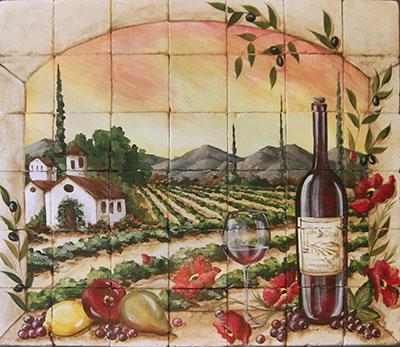 ייןטוסקנה כרמים שדה תמונות של יין
