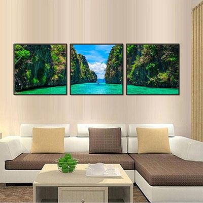 נוף ים טרופיתמונות לסלון תמונות לבית פרויקטים