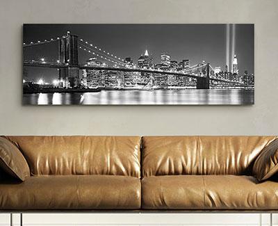 ניו יורק   New York Cityגשר תמונות לסלון תמונות לבית פרויקטים