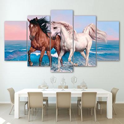 סוסים - Horsesתמונות לבית  תמונות לפינת אוכל   פרויקטים