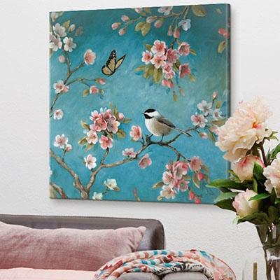ציפורים ופרחיםפרויקטים