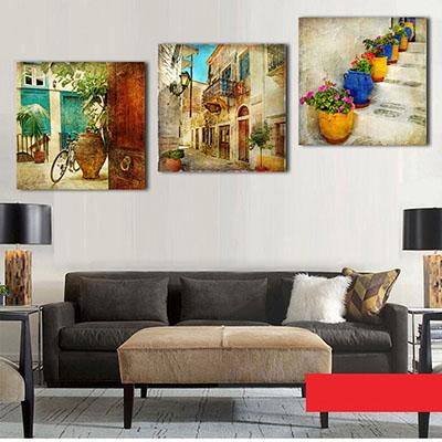 נוף כפרי (סלון)פרויקטים תמונות לסלון
