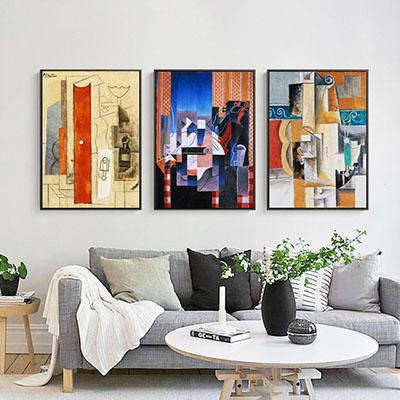 פיקאסו  (סלון) פרויקטים     תמונות לסלון