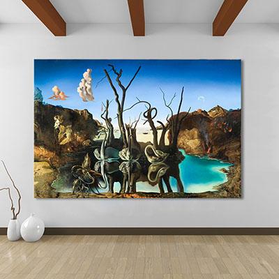 סלבדור דאלי (סלון) פרויקטים תמונות לסלון