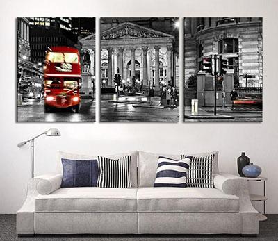 לונדון  (סלון) פרויקטים תמונות לסלון