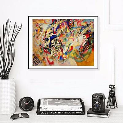 וסילי קנדינסקי  (סלון) (חדר שינה)פרויקטים תמונות לחדר שינהפרויקטים תמונות לסלון