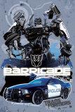 TransformersBarricade Vehicle בנים גיבור אימה אנימציה