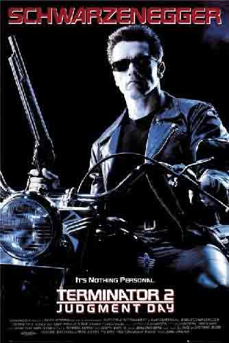 The Terminator 2המחסל טרמינטור טרמינתור סרט אימה בנים רוצח